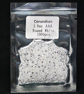 2mm_white_Sapphire_Corundum_Gemstones_China_Wholesale_Supplier