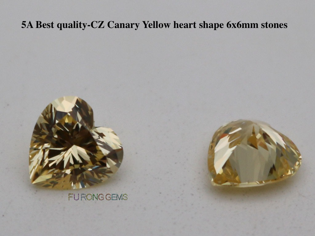 6x6mm-Heart-Shape-Canary-Yellow-Color-Cubic-Zirconia-Gemstones-wholesale