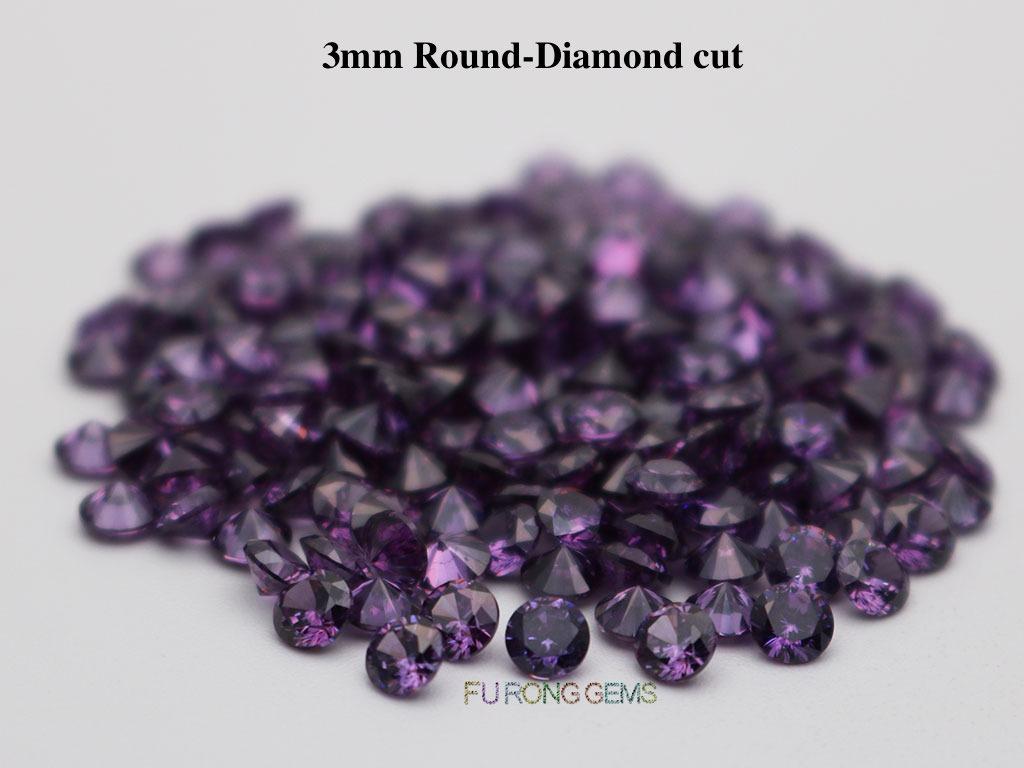 Amethyst-Cubic-Zirconia-Round-Diamond-Cut-3.5mm-Gemstone-wholesale