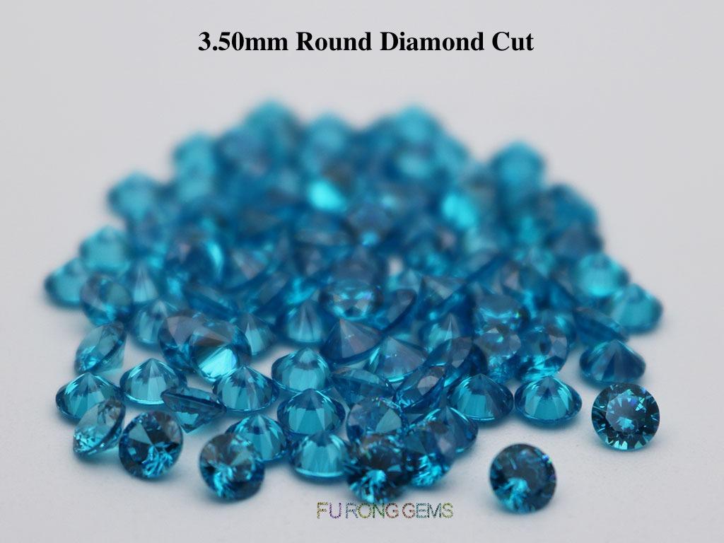 Aqua-Blue-Loose-CZ-Round-Diamond-cut-3.5mm-gemstones-for-sale