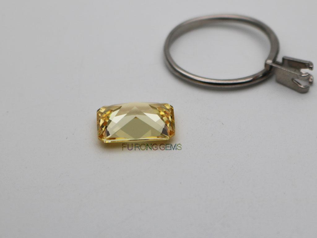 CZ-Canary-Yellow-Radiant-cut-stone-10x14mm