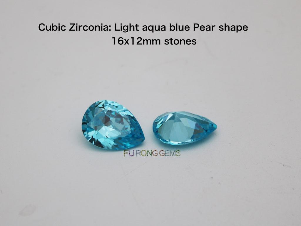 CZ-Light-Aqua-blue-Pear-shape-16x12MM