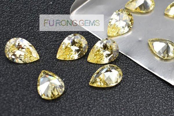 Canary-Yellow-CZ-citrine-Gemstones-China-Manufacturers