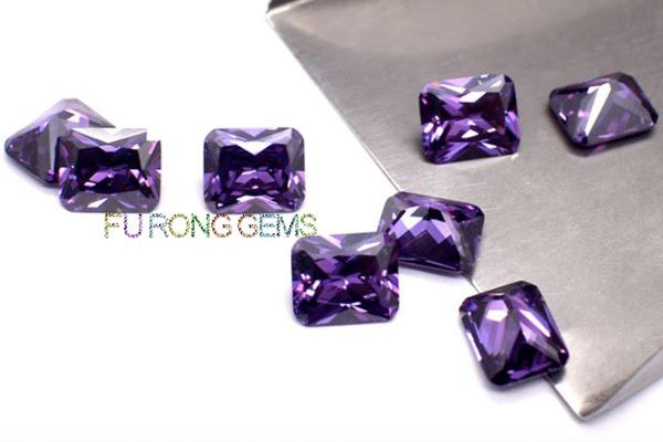 Cubic-Zirconia-Amethyst-Color-Octagon-Shape-Gemstones-China