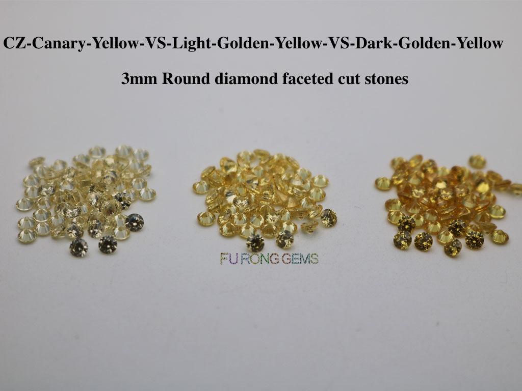 Cubic-Zirconia-Canary-Yellow-VS-Light-Golden-Yellow-VS-Dark-Golden-Yellow-Color-Gemstones