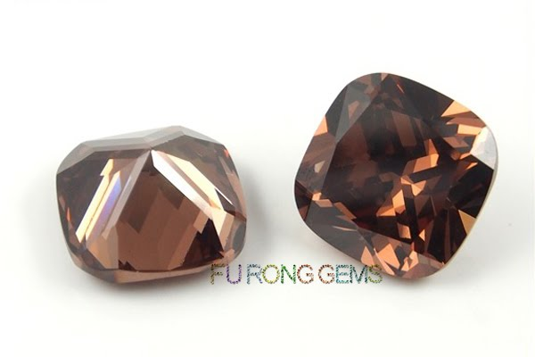 Cubic-Zirconia-Coffee-Brown-Color-Cushion-shape-Gems-China-Suppliers