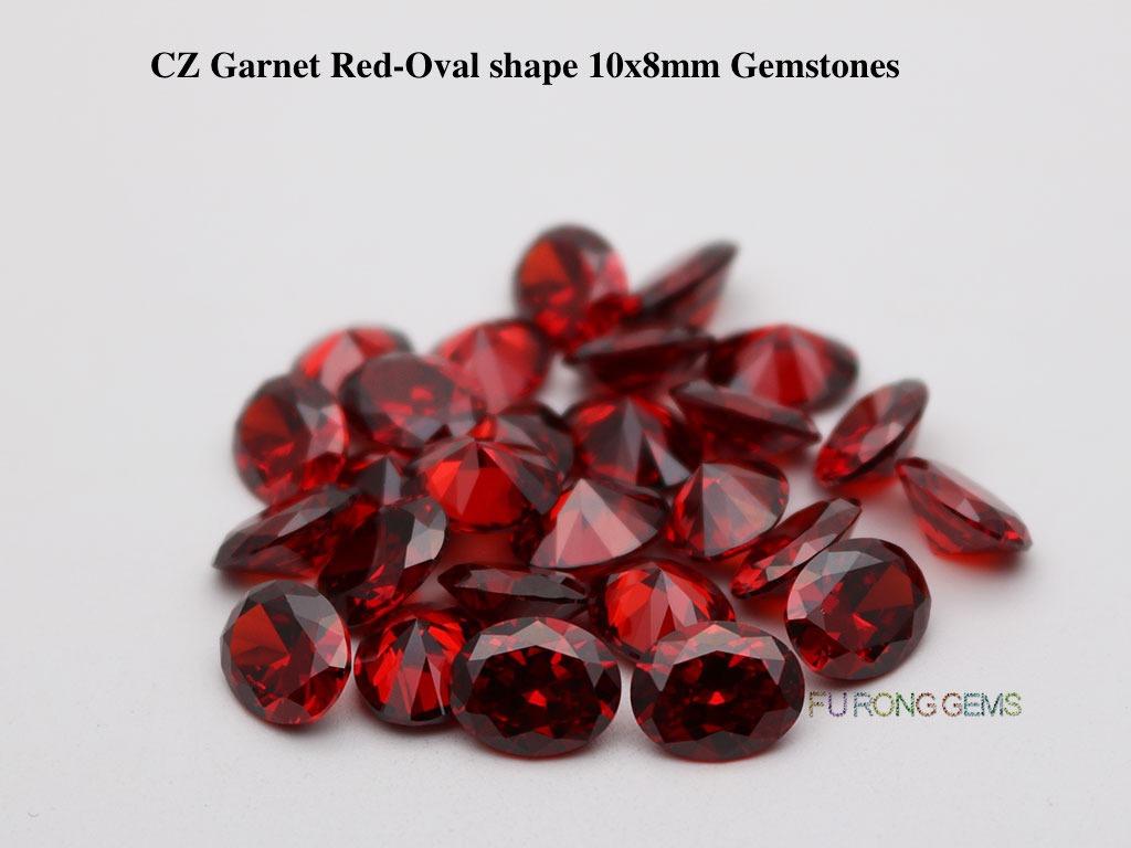 Cubic-Zirconia-Garnet-Red-Oval-Shape-10x8mm-Gemstones-suppliers