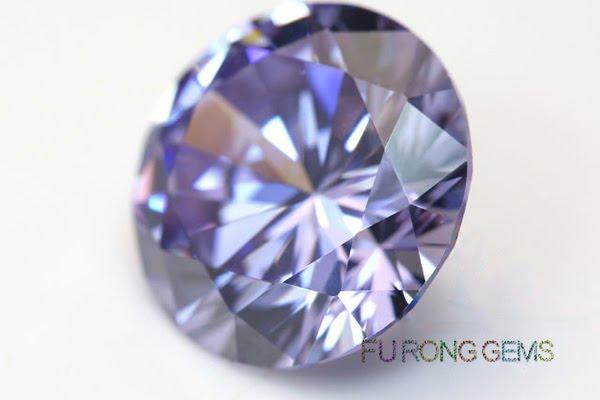 Cubic-Zirconia-Lavender-Colored-Round-Stones-China-Wholesale