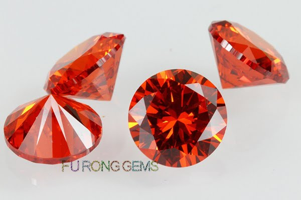 Cubic-Zirconia-Orange-Color-Round-shape-Gems-China-Suppliers