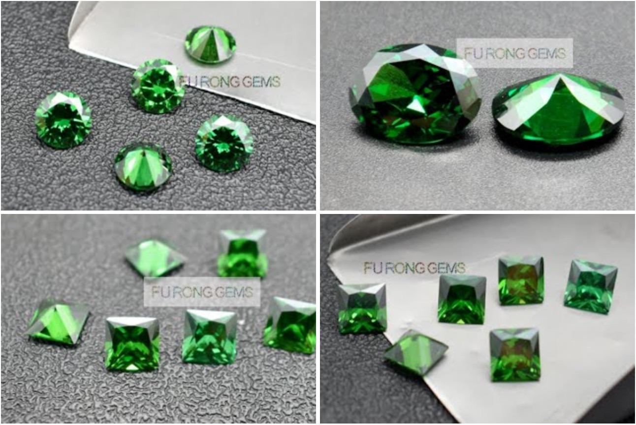 Emerald-Green-Color-Loose-Cubic-Zirconia-gemstones-Wholesale-China