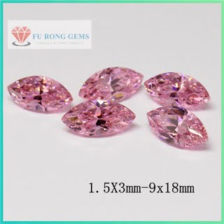 Marquise-Shape-Cubic-Zirconia-Pink-Color-Gemstones-China-wholesale-Supplier
