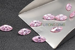 Marquise-Shape-Cubic-Zirconia-Pink-Colored-gemstones-Wholesale