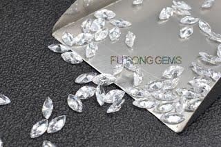 Marquise-Shape-Cubic-Zirconia-white-Colored-gemstones