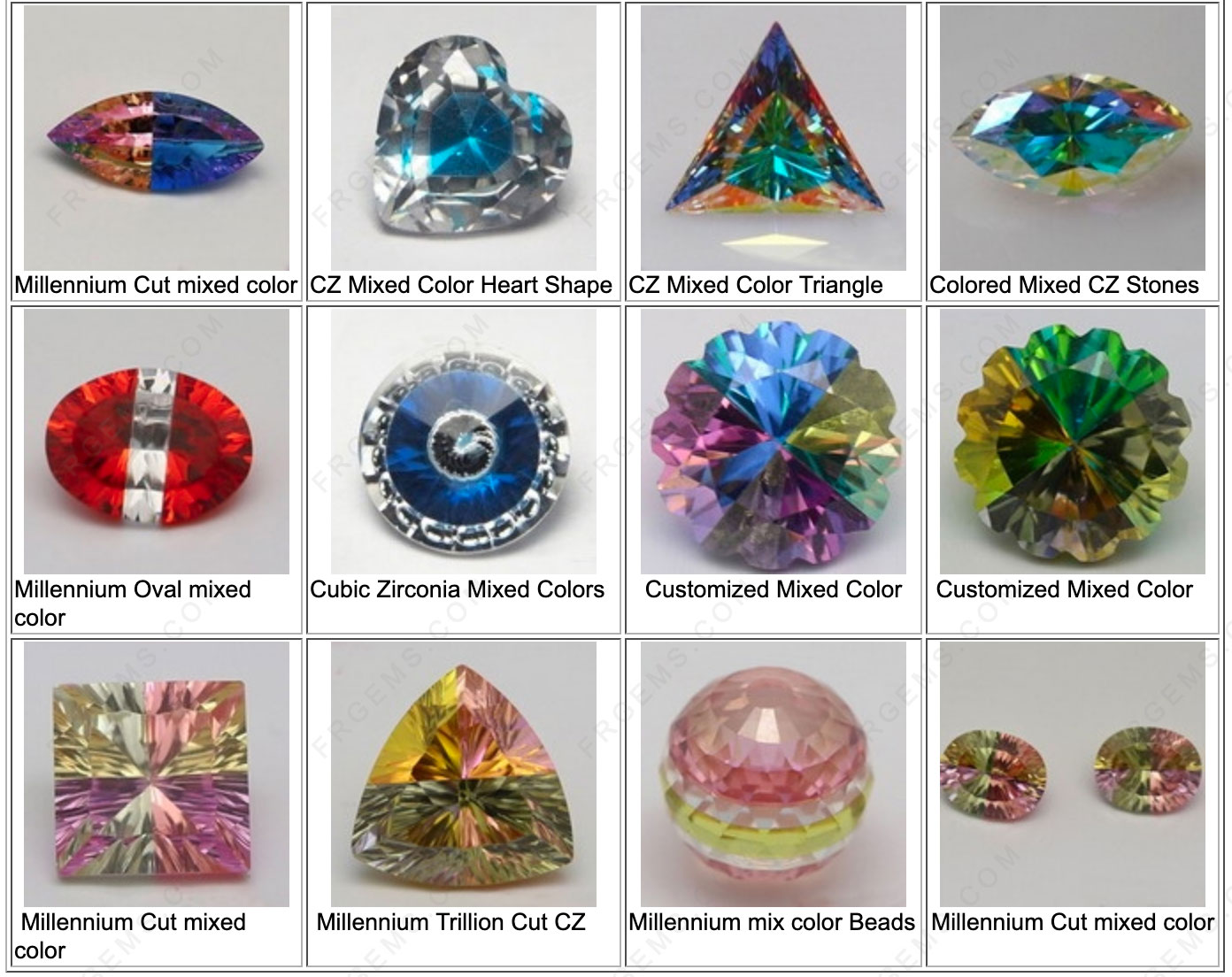 Mixed-Colored-Loose-Cubic-Zirconia-Gmestones-China-wholesale-Manufacturers
