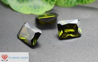 Octagon-Shape-Peridot-Cubic-Zirconia-Gemstones-China-wholesale-Suppliers