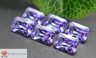 Octagon-Shape-Violet-Cubic-Zirconia-Gemstones-China-wholesale-Suppliers