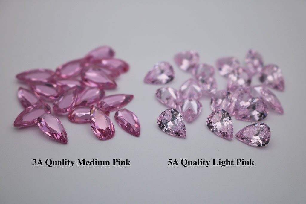Pink-Color-Cubic-Zirconia-Medium-Color-VS-Light-Shade