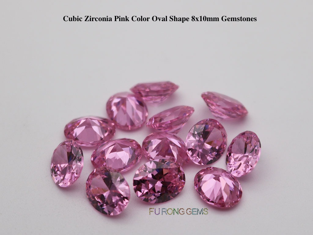 Pink-Color-Cubic-Zirconia-Oval-Shape-Gemstones-Wholesale