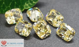 Elongated-Cuchion-Shape-Citrine-Yellow-CZ-Gemstones-China-wholesale-Supplier
