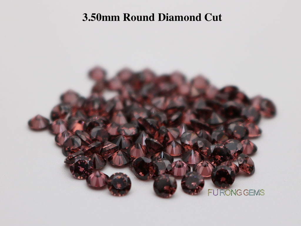 Rhodolite-Smoky-Loose-CZ-Round-Diamond-cut-3.5mm-gemstones-for-sale
