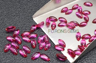 Synthetic-Ruby-Red-Marquise-Cabochon-gemstones-Suppliers