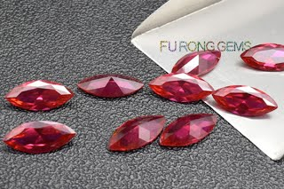Synthetic-Ruby-Red-Marquise-Shape-gemstones-China