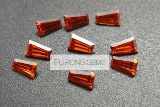 Tapered-Baguette-Cut-Cubic-Zirconia-Garnet-Red-Gemstones
