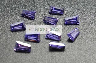 Tapered-Baguette-Cut-Cubic-Zirconia-Lavender-Colored-Gemstones