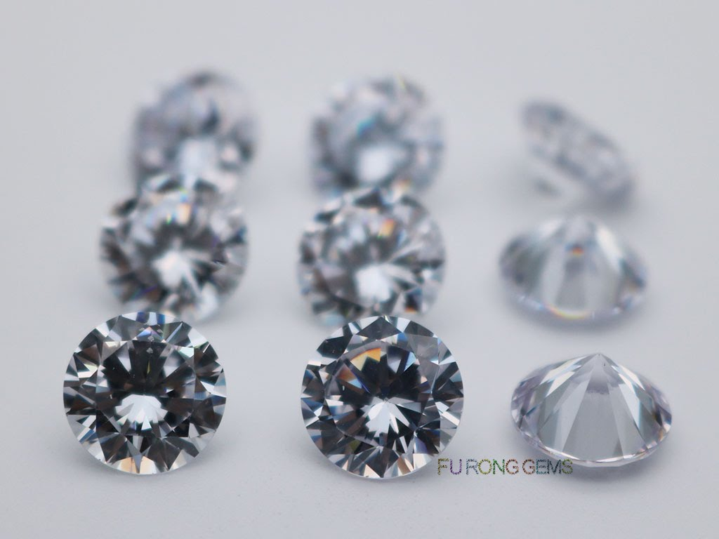 White-Color-Cubic-Zirconia-3A-Quality-Round-diamond-cut-10mm-gemstones-for-sale