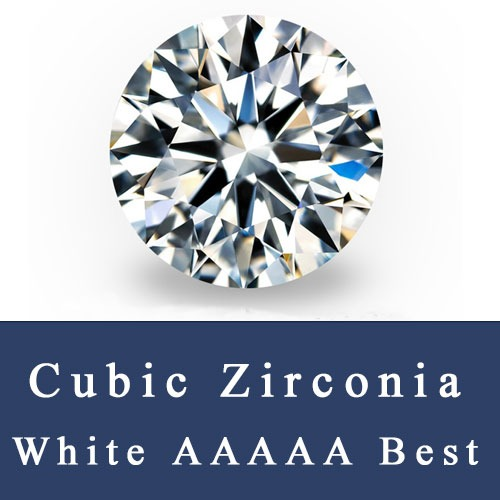 CZ_White_Round_Diamond_Cut_Stones