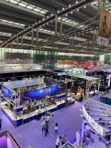 Shenzhen International Jewellery Exhibition hall