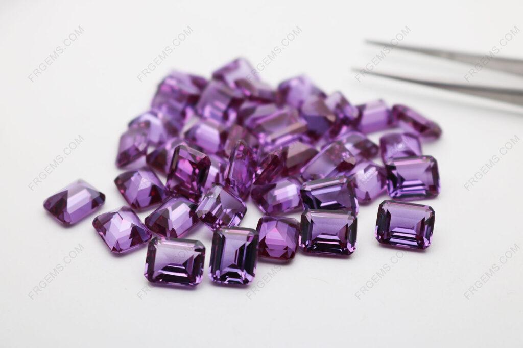 Synthetic-Corundum-Alexandrite-Color-change-46#-Emerald-Cut-8x6mm-Gemstones-wholesale-China-Suppier-IMG_4860
