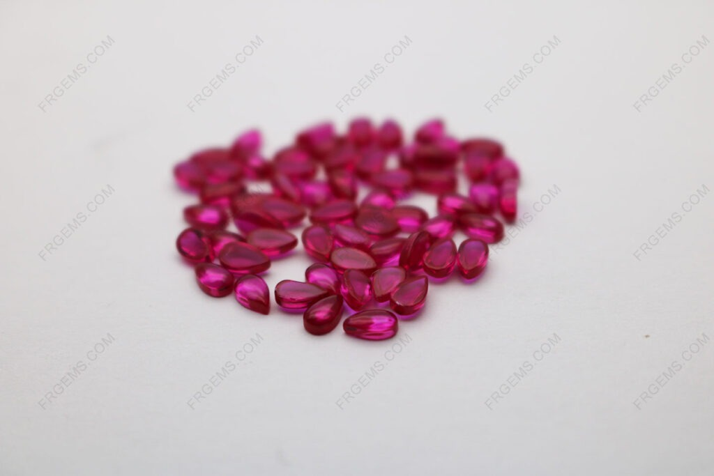 Synthetic-Corundum-Ruby-Red-Color-5#-Pear-Shape-Cabochon-3x5mm-Gemstones-wholesale-from-China-Suppier-IMG_4981