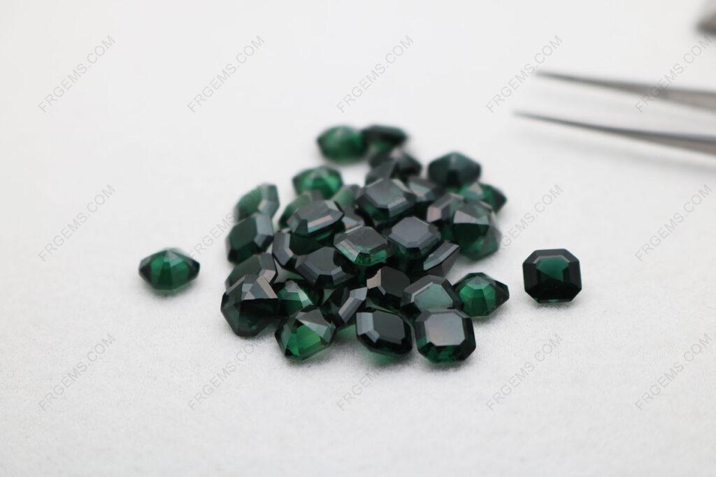 Synthetic-Spinel-Green-Tourmaline-Asscher-Cut-7x7mm-gemstones-China-Supplier-IMG_4859
